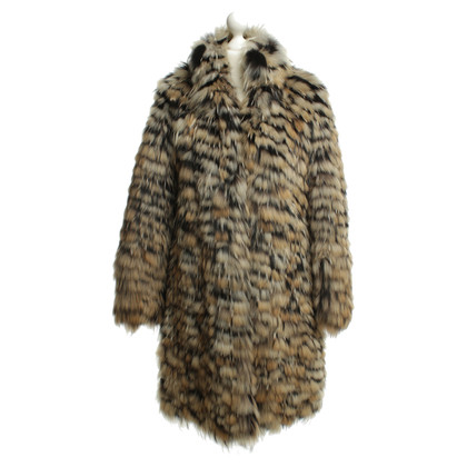 Gucci Arctic fox fur coats