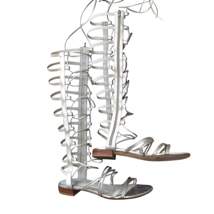 Stuart Weitzman Roman sandals with shank