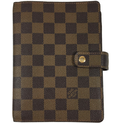 "Louis Vuitton ""Agenda Fonctionnel MM Damier Ebene Canvas"""