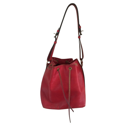 "Louis Vuitton ""Grand Noé Epi leder"" in het rood"