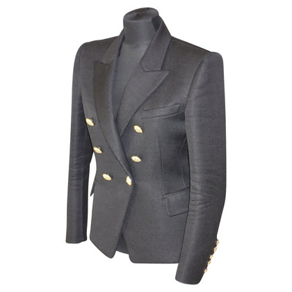 Balmain Blazer con bottoni color oro