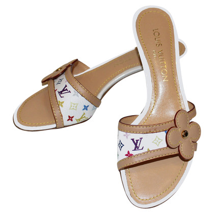 Louis Vuitton Pantoletten in Bunt