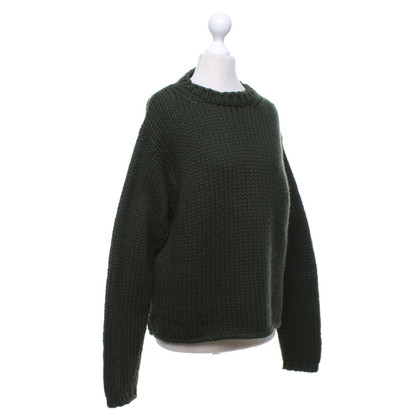 Jil Sander Sweater in olive green