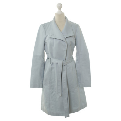 Reiss Trenchcoat in Taubenblau