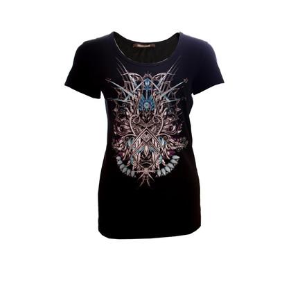 Roberto Cavalli T-shirt van de Fantasie Print