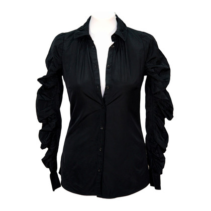 All Saints Shirt in zwart