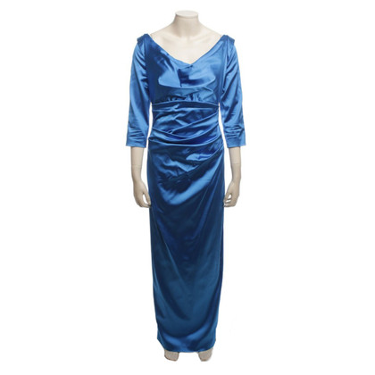 Talbot Runhof Evening Dress in Blauw