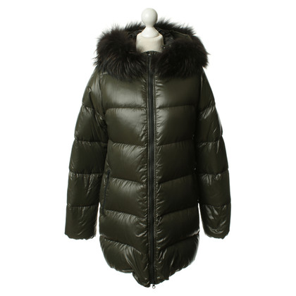 Duvetica Down jacket with fur