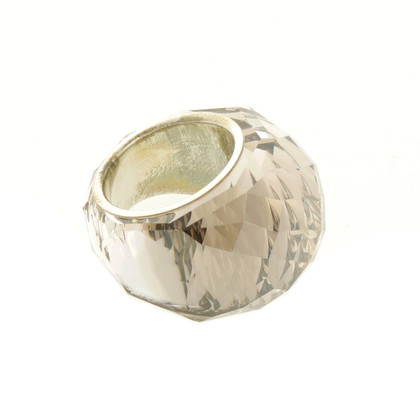 Swarovski Crystal ring in beige