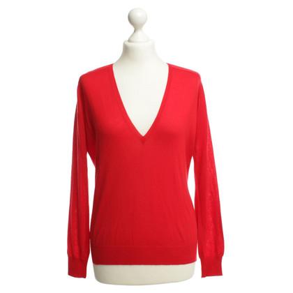 Balenciaga Kaschmirpullover in Rot