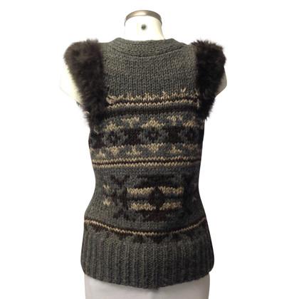 Drykorn Cardigan with fur