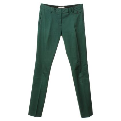 Prada Piega pantaloni verde