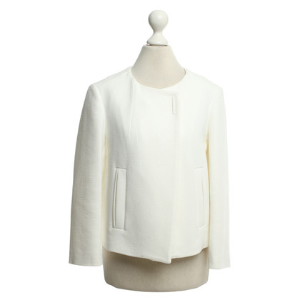 Tara Jarmon Jacket in Offwhite
