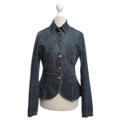 Escada Jeansblazer in blue