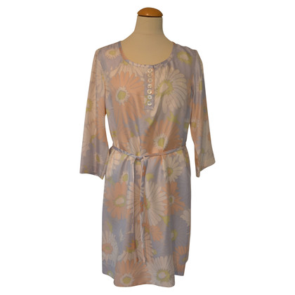 Marc Jacobs Silk dress in pastel shades