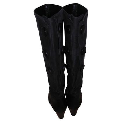 Acne Schwarze Stiefel