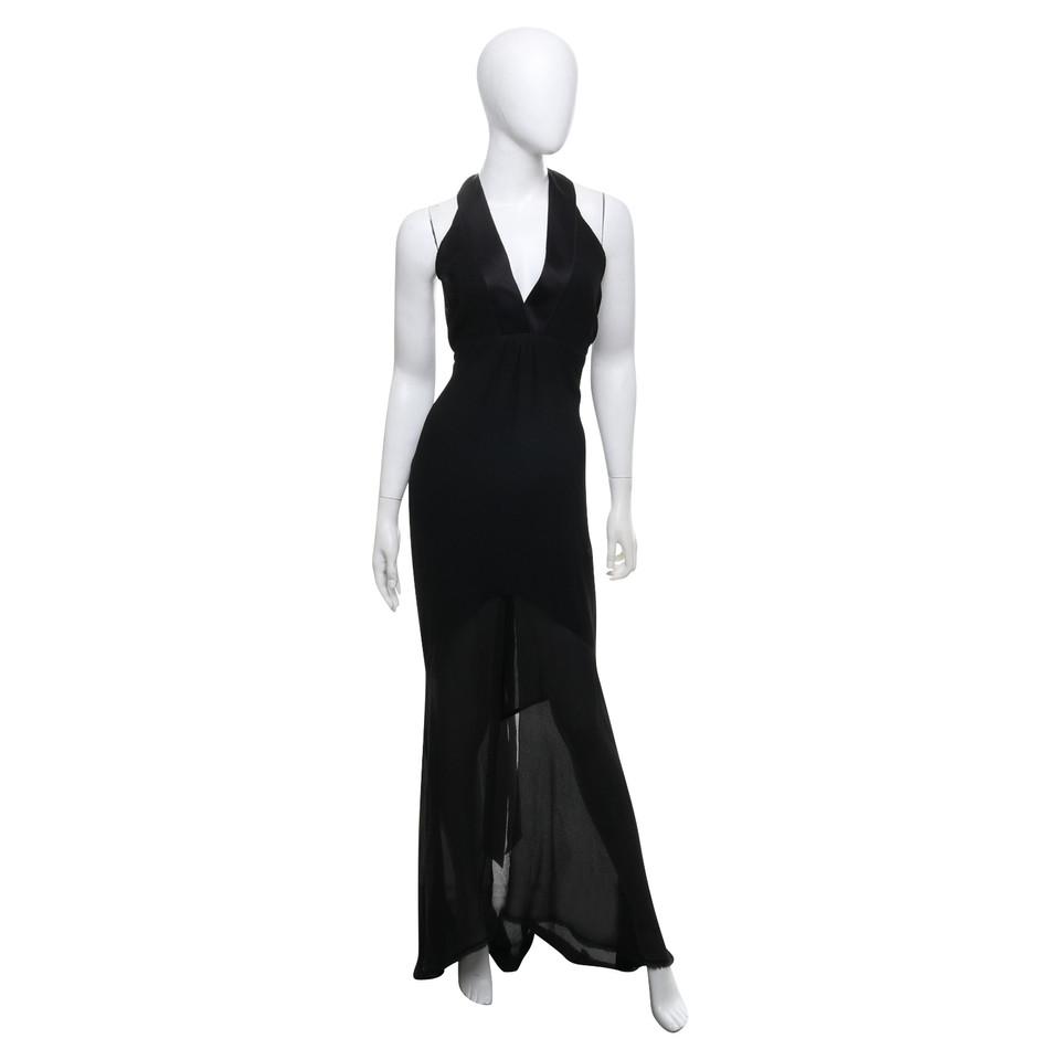 Chanel Silk dress in black