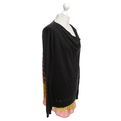 Versace maglione maglia con motivo