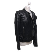 Closed Leather jacket in black