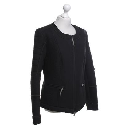 Bogner biker jacket in black