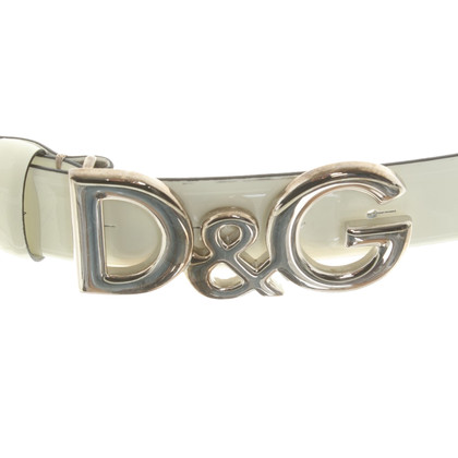 Dolce & Gabbana riem patent leather