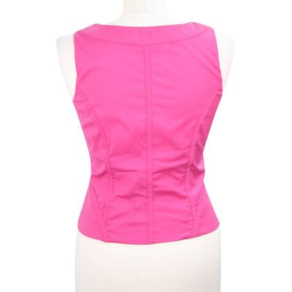 Karen Millen top in pink