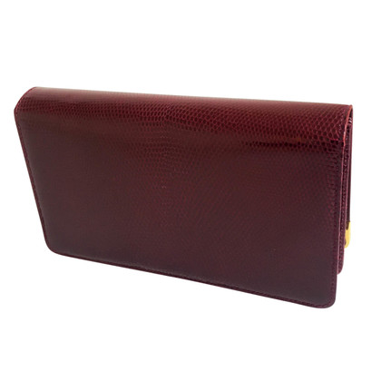 Cartier cuir de lézard clutch
