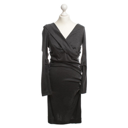 Diane von Furstenberg Wool Dress in grey
