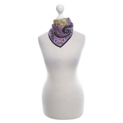 Etro Silk scarf with pattern