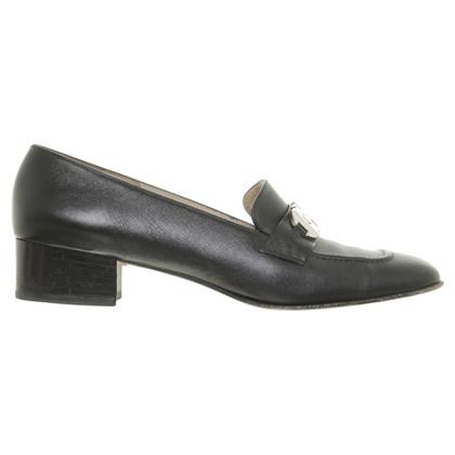 Salvatore Ferragamo Black Pumps with stiletto heel