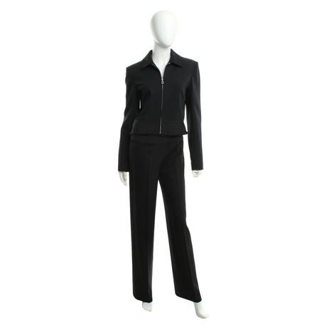 Christian Dior Anzug in Schwarz Schwarz