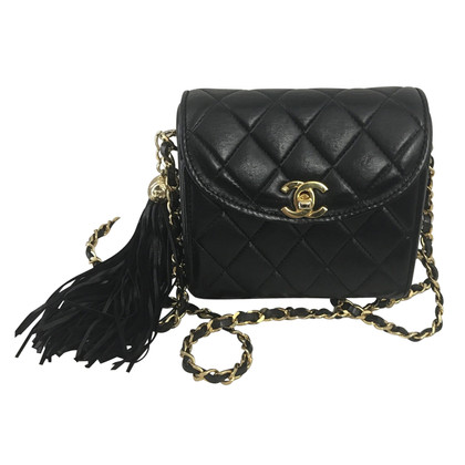 """Chanel """"Flap Bag Mini Square"""" with Tassel"""