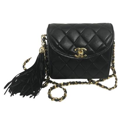 "Chanel ""Flap Bag Mini Square"" met Tassel"