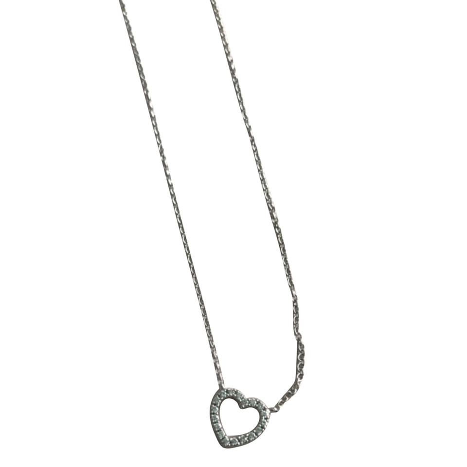Tiffany & Co. Heart chain in white gold