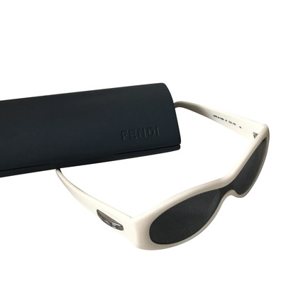 Fendi Sunglasses in white