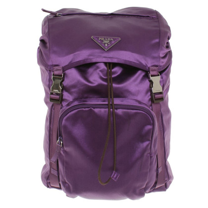 Prada Backpack in purple