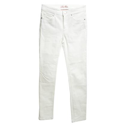 Loro Piana Jeans in White
