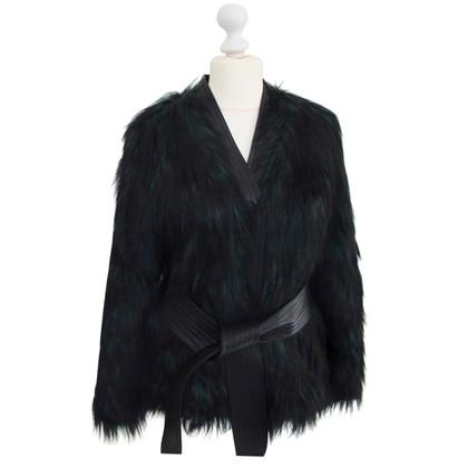 Balmain X H&M giacca di pelliccia Faux