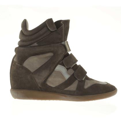 Isabel Marant Sneakers mit Keilabsatz