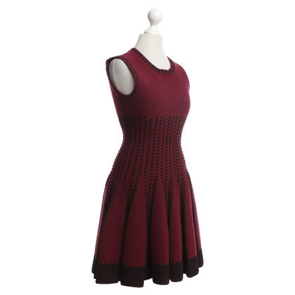 Alaïa Dress in Bordeaux