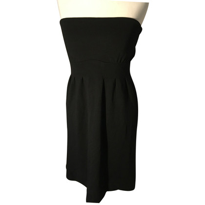 Ella Moss Bandeau dress in black