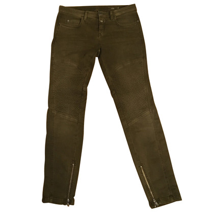 Closed Biker Jeans in Khaki