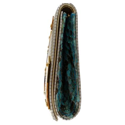 Dolce & Gabbana Clutch aus Leder