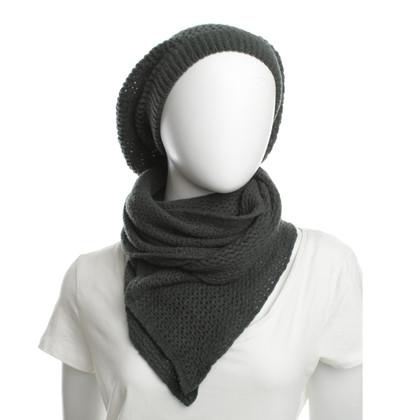 Furla Cappello e sciarpa di lana Mix