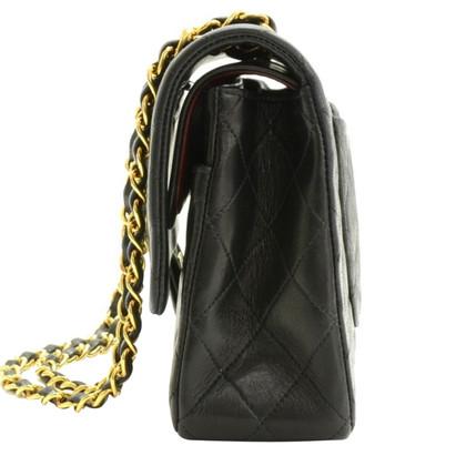 """Chanel """"2:55 Double Flap Bag"""" in zwart"""