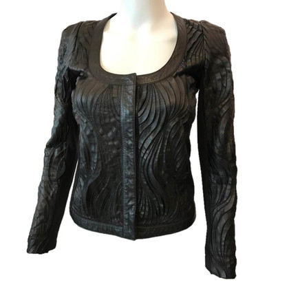 Patrizia Pepe Black leather jacket