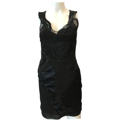 Karen Millen Black zijden jurk