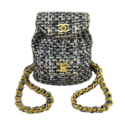 Chanel rugzak Tweed