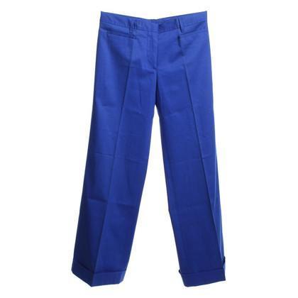 Miu Miu trousers in blue