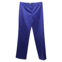 Versace trousers in royal blue